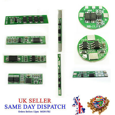 1S 2S 3S 4S Cell PCB BMS 18650 Protection Board Li-ion Lithium Battery