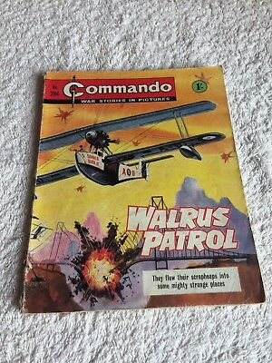 Very Early  High Grade Commando Comic Number  284