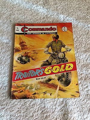 Early High Grade Commando Comic Number 484