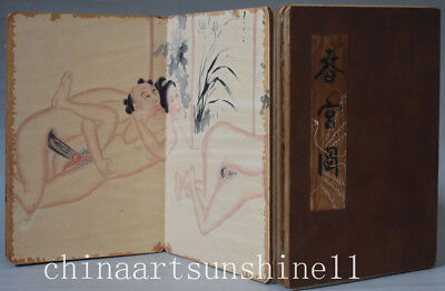 Chinese Old Paper diagram Book art deco Painting Belle picture