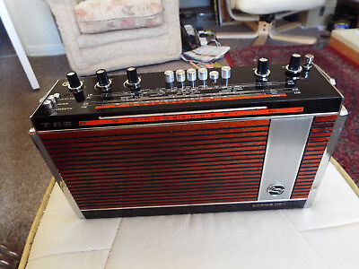Schaub Lorenz T 86 German Transistor Radio 1971 Good All Round Working Condition