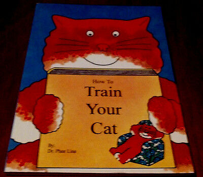HOW TO TRAIN YOUR CAT*  Vintage1992 RARE EDITION 🌟HOLIDAY🎁SALE🎄