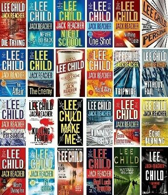 Jack Reacher ~ the Complete Collection of 24 AudioBooks by Lee Child on Micro SD