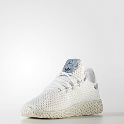 Youth (GS) Adidas Pharrell Williams Tennis HU Running White/Tactile Blu CP9804