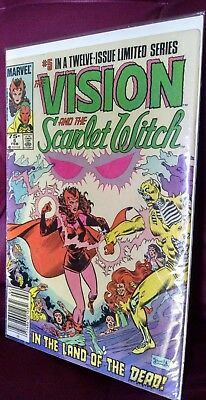 The Vision and the Scarlet Witch Volume 2 #5 (Feb 1986)