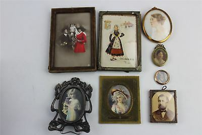 Lovely Collection of MIXED Vintage and Antique Pictures etc