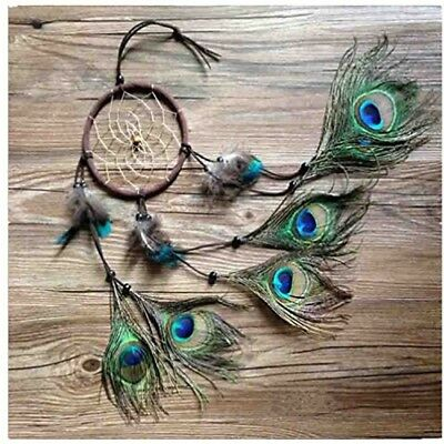 Dream Catcher ~ Handmade Traditional Feather Pendant Wall Hanging Home Decor