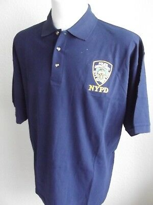 Polo-Shirt-NYP-New York Police- Größe XXL