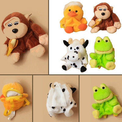 Kids Wallet Purse Bag Mini Backpack Soft Toy Zip Coin Pocket Money Gift Animal
