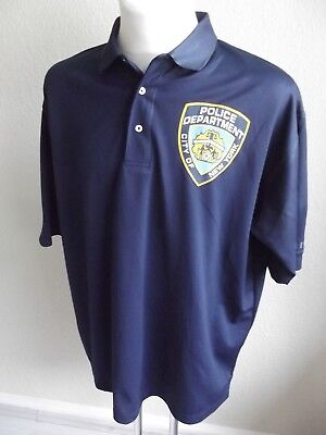 Polo-Shirt-NYP-New York Police- Größe XXL (Funktionsware)