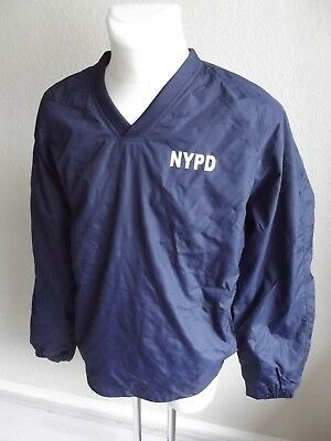 Windbreaker-V-Shirt-NYP-New York Police- Größe XL