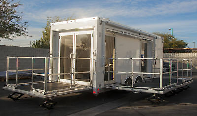 2016 Quest Aluminum Trailer (Perfectly customized for Shop on Wheels)