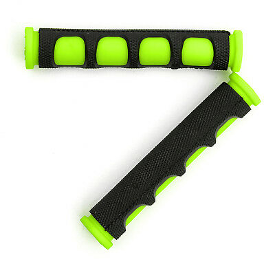 Motorbike Bicycle Brake Lever Covers Grips Protectors Black Green MTB BMX Cycle