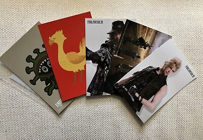 Sqaure Enix Cafe Exclusive FFXV Prompto Postcard Set Final Fantasy XV
