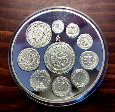 Mexico 1993 2 oz Silver 'Serie Nuevo Cono Monetario' Proof Medal
