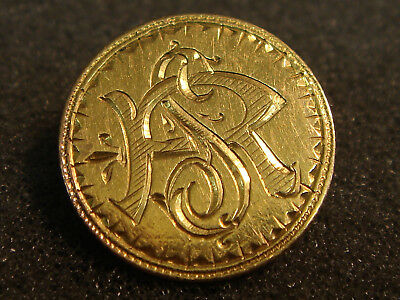 1800's Type 3 Indian Princess Large Head Gold Dollar Love Token R and S SR or RS