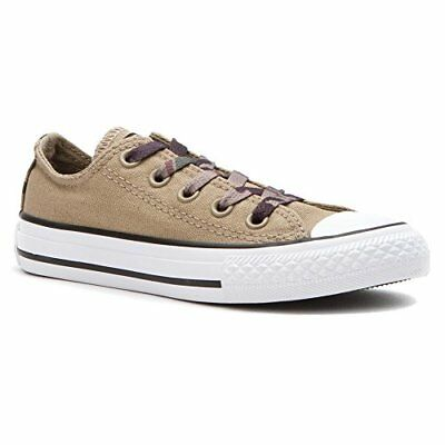 Converse Chuck Taylor All Star Ox Sandy Sandy/White Casual Shoe 12 Kids US