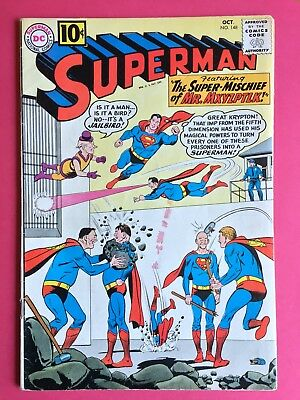 Superman #148 (1961) Silver Age DC Classic! VG/FN condition!