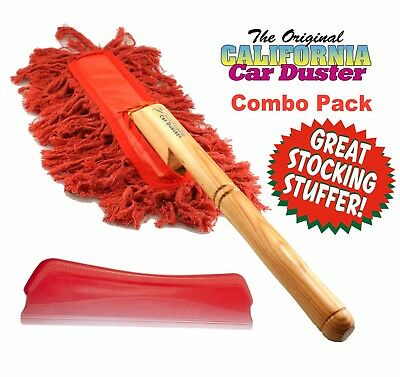 California Car Duster 20104 Red Dry Blade & California Duster COMBO