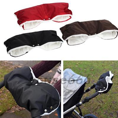 Kids Baby Pram Stroller Gloves Waterproof Hand Muffs Outdoor Anti-freeze