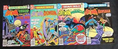Brave and the Bold #136, 137, 138, 139 Lot High Grade NM 9.2-9.4 CA959