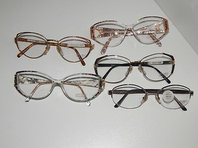 """nina Ricci Paris""lot The 5 Vintage Frames.*never Used*old Stock*"