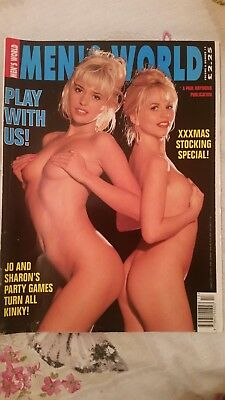 Vintage Mens World  Magazine vol6 no 13...Jo Guest Diana Laar plu lots more