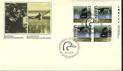 Canada FDC Sc # 1205a UR Wildlife Conservation