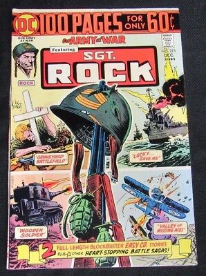 Our Army At War #275 (1974) 100 Page Giant Nice VF to VF+ 8.0-8.5 CA965