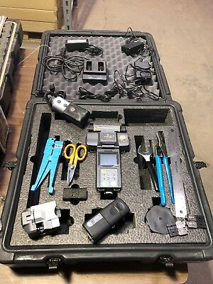 Fitel S121D Fusion Splicer Kit Zero 00 Count Total w/ Hard Case