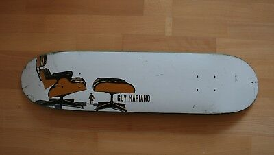 vintage Girl Skateboard with Eames Design Graphic