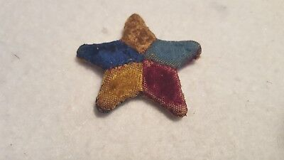 Early Five Pointed Star Pin Cushion