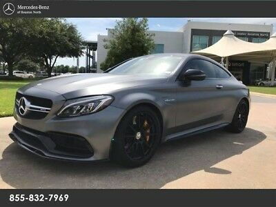 2017 Mercedes-Benz C-Class  RARE 2017 C63S AMG COUPE EDITION 1!!! CAR IS IMMACULATE!!! MBCPO!!!!