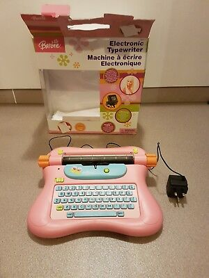 Barbie Typewriter