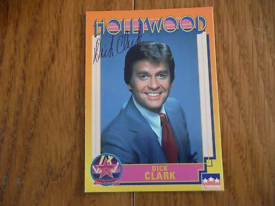 Dick Clark Autographed Hollywood Card Hand Signed American Band Stand