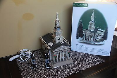 Dept 56 Christmas Holiday St Martin Church Chapel Fields Dickens Village 58471