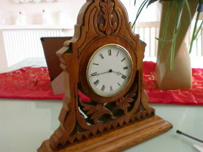Fantastic 8Day French Gothic  Clock By  E.g.lamaille Of Paris  1890