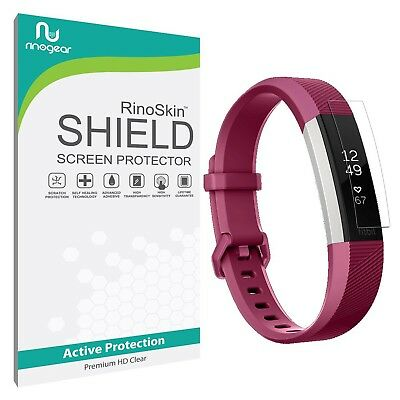 [6-PACK] RinoGear Screen Protector for Fitbit Alta HR (Active Clear Shield)