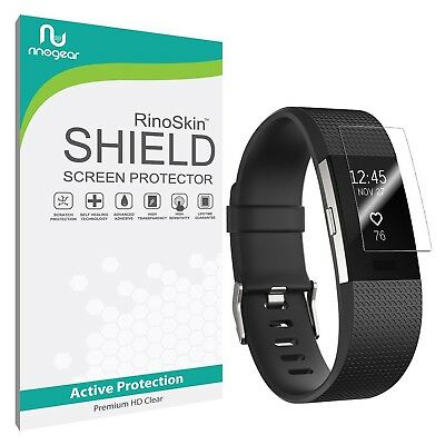 [8-PACK] RinoGear Screen Protector for Fitbit Charge 2 (Active Clear Shield)