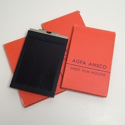 AGFA ANSCO 5x7 Film Holders