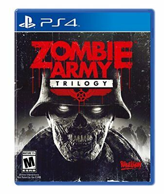 Zombie Army Trilogy PS4 New Sony Playstation 4 F/S F