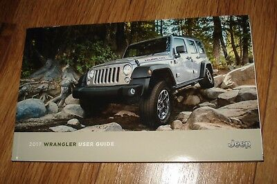 2017 Jeep Wrangler Owners Manual User Guide New Take Out