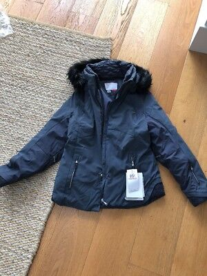 SNOW Spyder Posh Faux Relaxed Fit Jacket. Size US10 / AU12-14. BNWT Women's.
