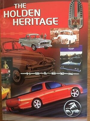'The Holden Heritage' book.  Tenth Edition.