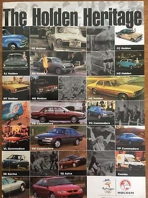 'The Holden Heritage' Book - Ninth Edition.