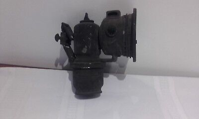 Early Lucas Carbide Bike lamp for restoring circa 1900s made in England
