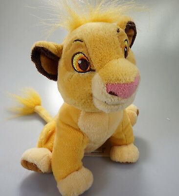 Lion Kings Simba Disney Store Small Soft Plush Cuddly Toy (Ex Condition)