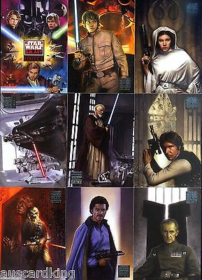 Star Wars - Galaxy Series 4 - Complete Trading Card Set (120) - NM