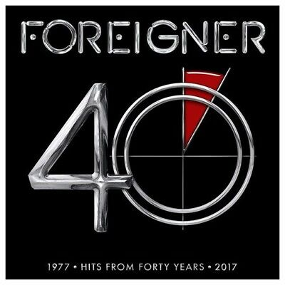 40 by Foreigner (CD, May-2017, Rhino (Label))