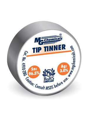 MG Chemicals SAC305 Lead Free Tip Tinner, (28g) 1 oz container, No Clean Formula